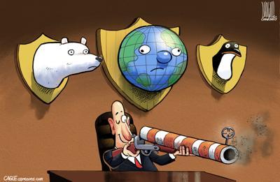 Dorrell column cartoon