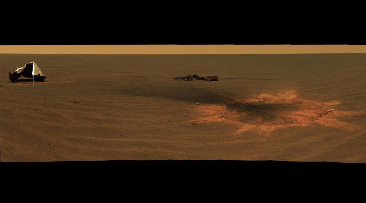 NASA says goodbye to record-setting Mars rover Opportunity