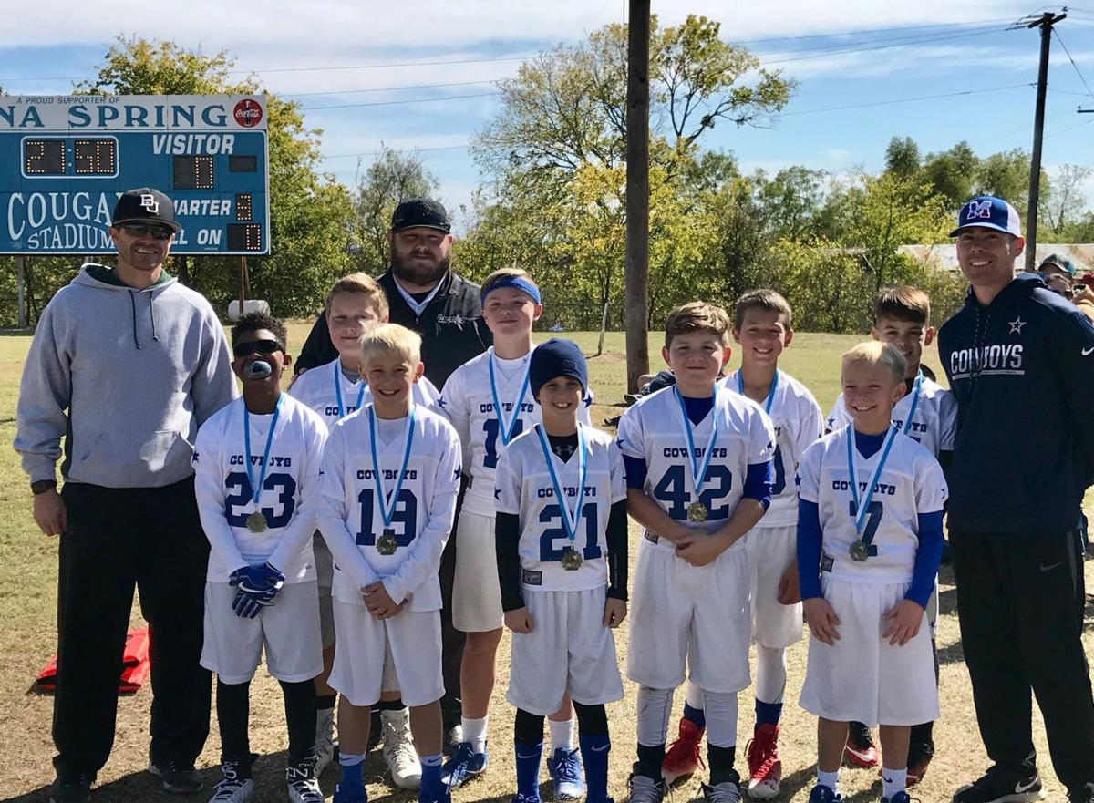 Youth football squad completes undefeated season