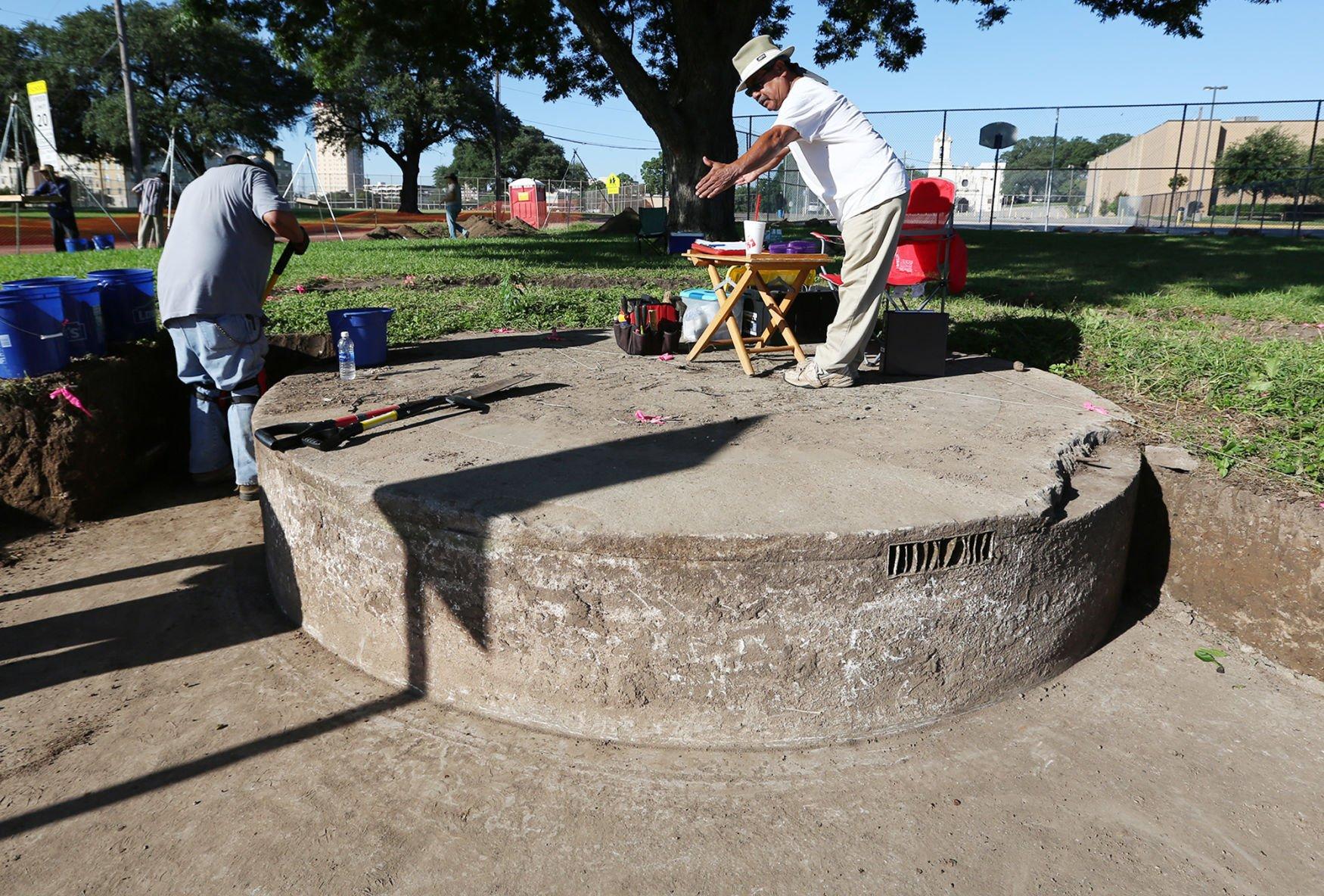 La Pila La Pila fountain once central