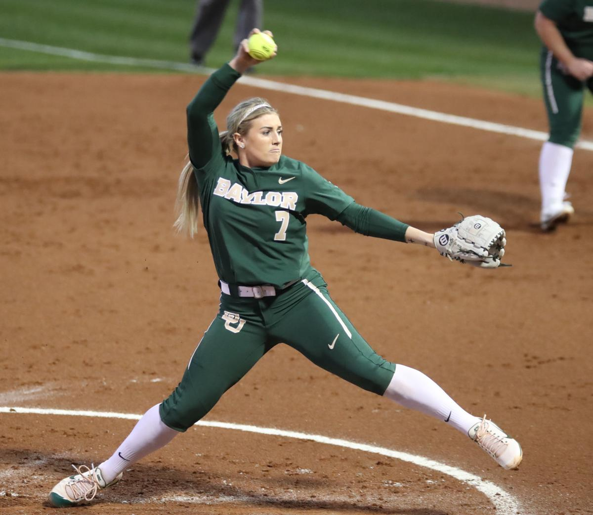 dc8c83eefb93 Rodoni s third no-hitter leads Baylor s 8-0 win