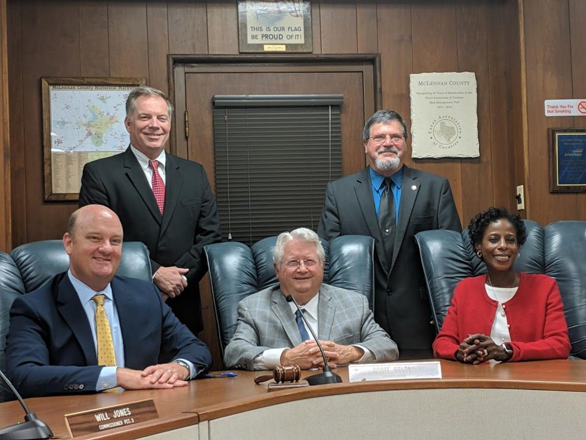 McLennan County commissioners