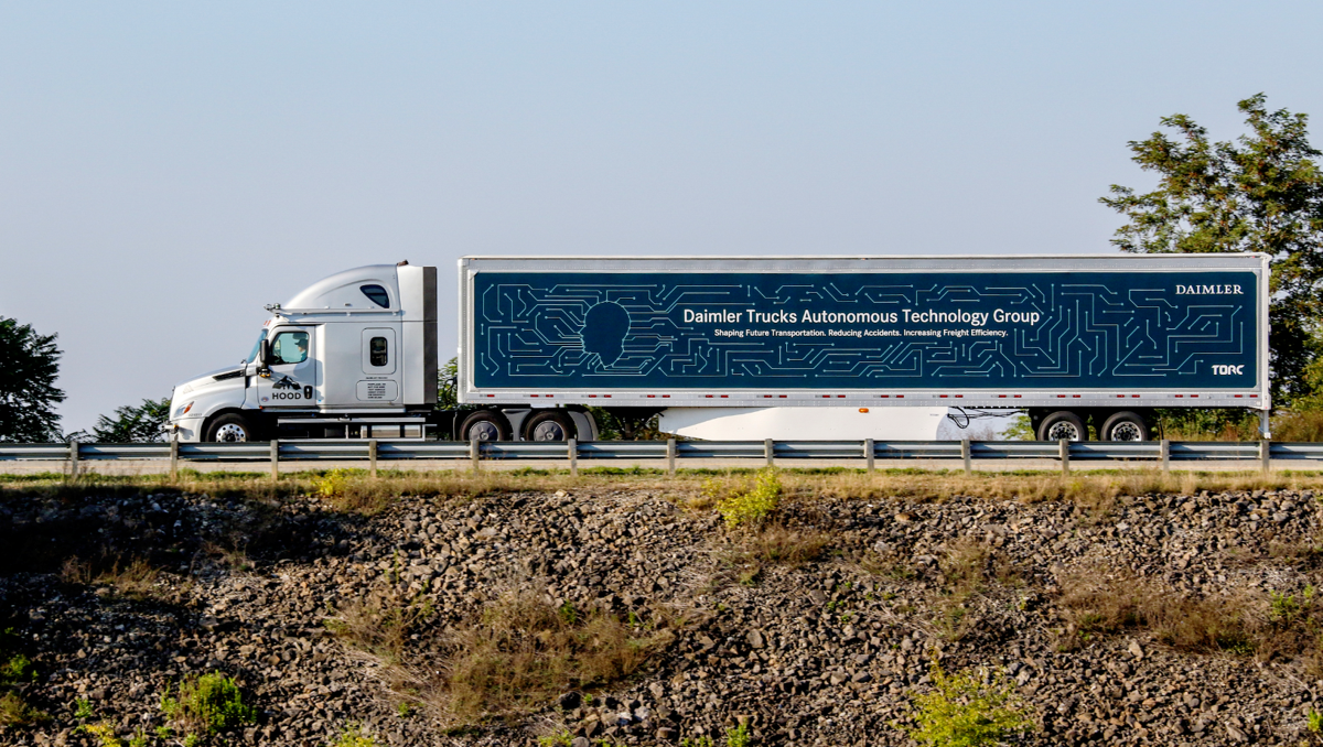 Daimler Trucks autonomous vehicle