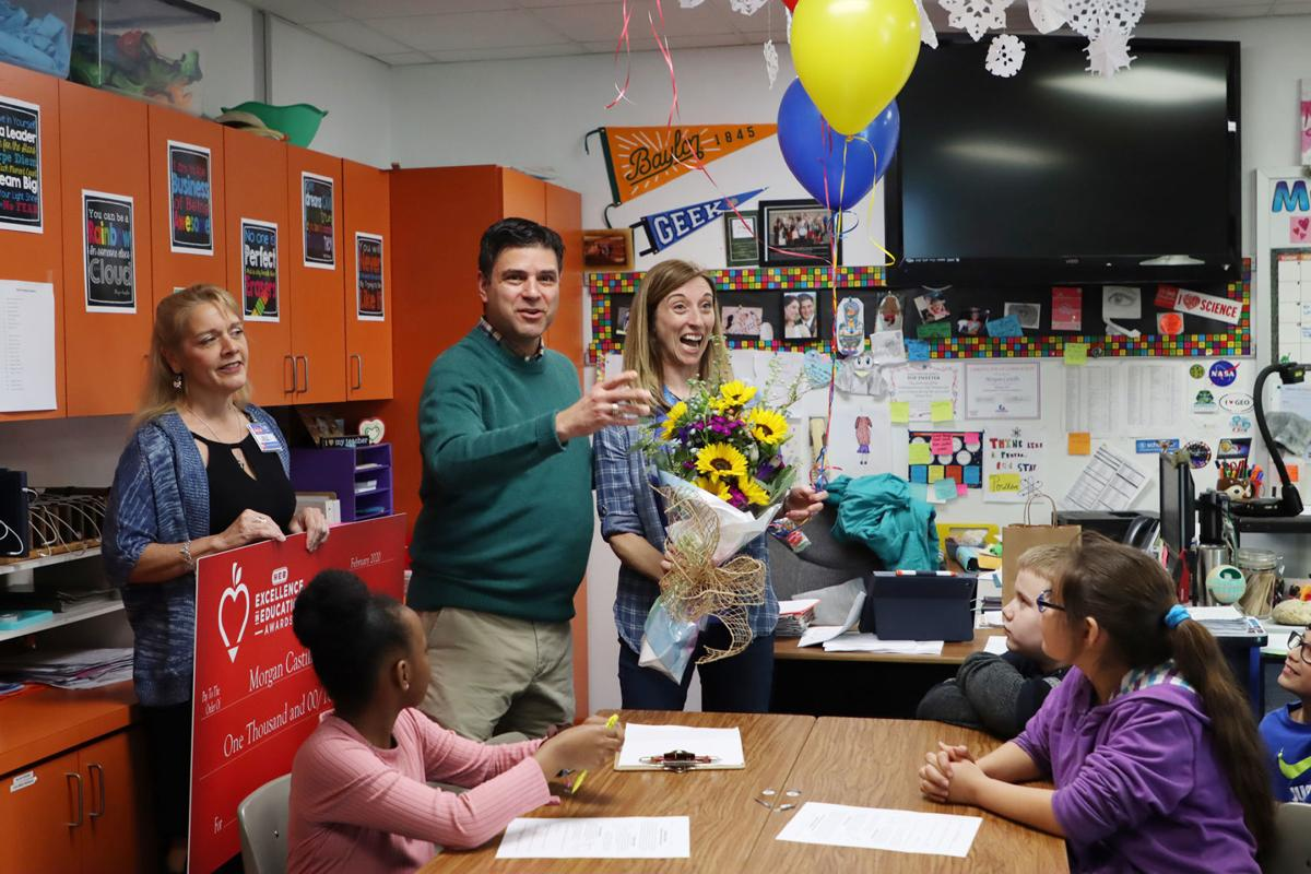 Morgan Castillo wins H-E-B educator award