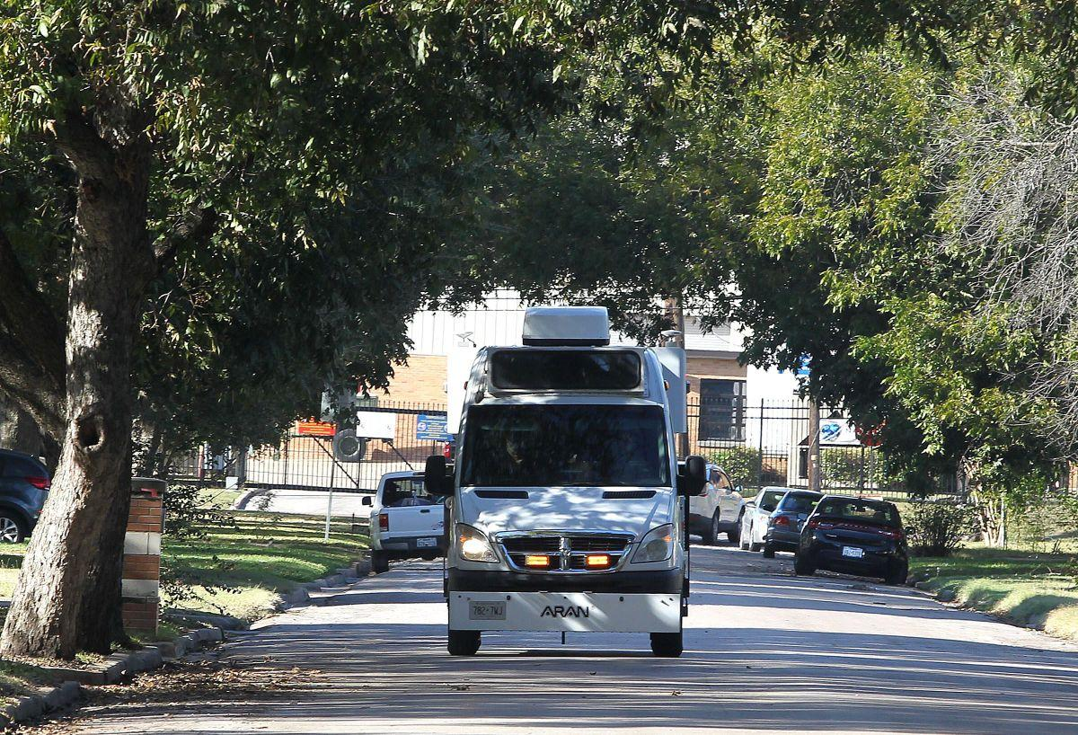 High-res cameras, laser scanners survey Waco streets to