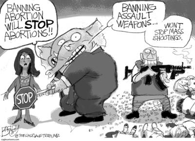 Abortion cartoon