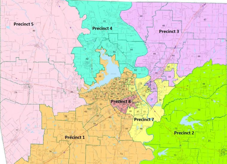 Commissioners Vote To Eliminate Jp Constable Precincts