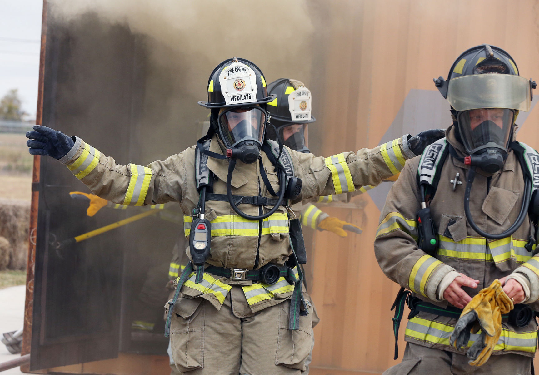 Fire exercises City officials get taste of