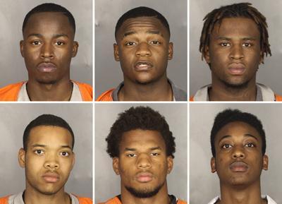 Sex assault case - 6 suspects