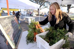 Get fresh! Farmers market blossoms in downtown Waco
