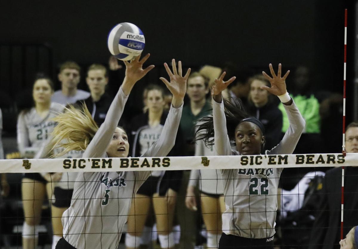 Baylor Iowa Volleyball