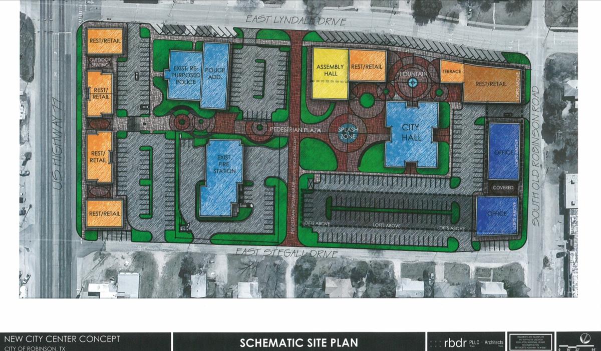Robinson downtown proposal