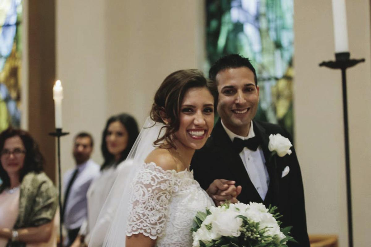 NickTaina wedding