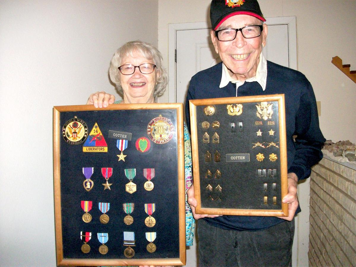 Veterans - R.D. Cotten and Mary Ann Bewley Cotten