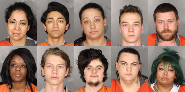 Woodway 10 arrested