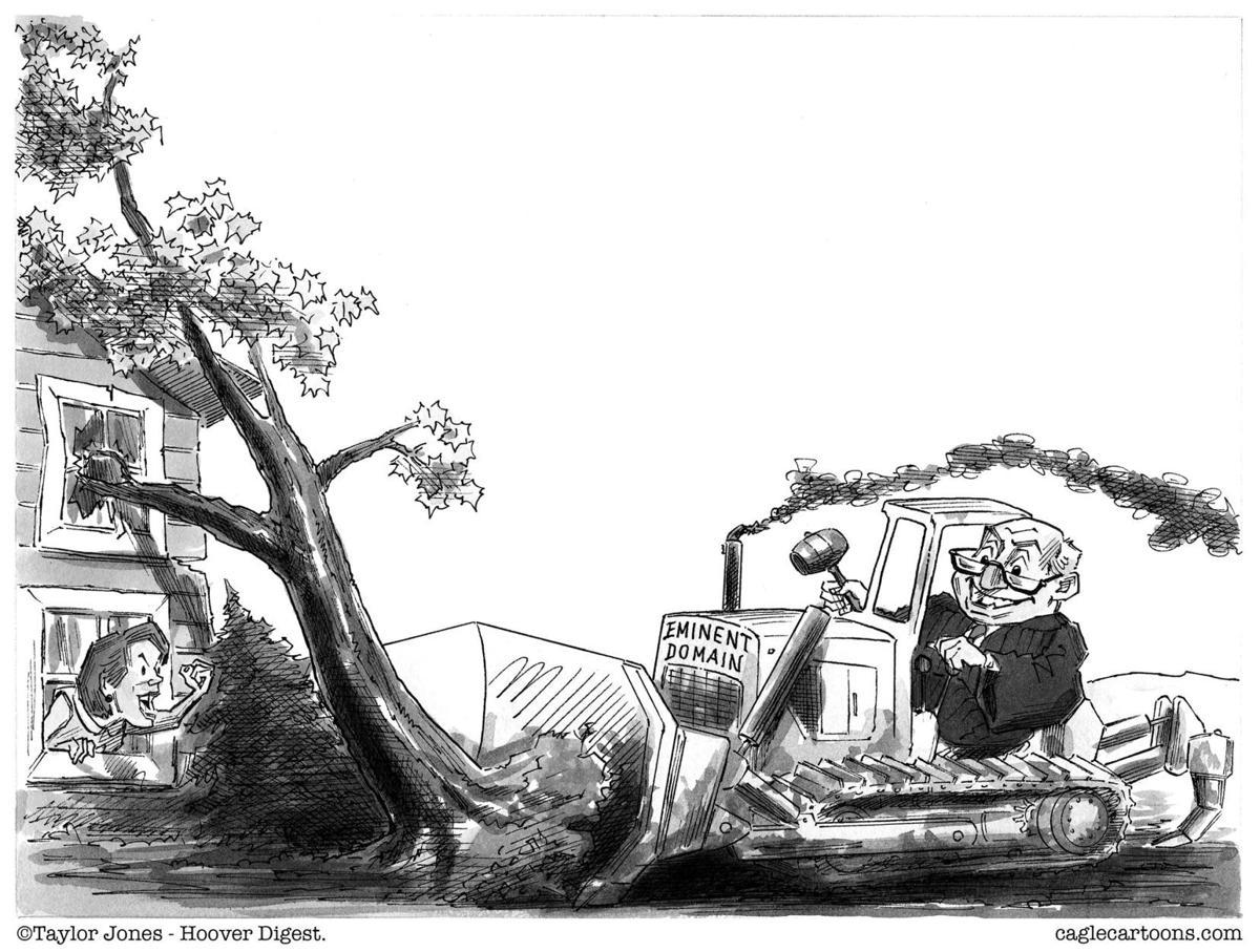 Sunday cartoon - Eminent domain