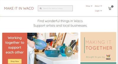 Make it in Waco website
