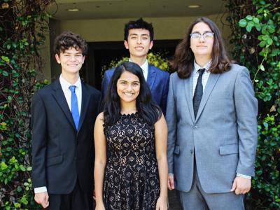 Vanguard National Merit honorees