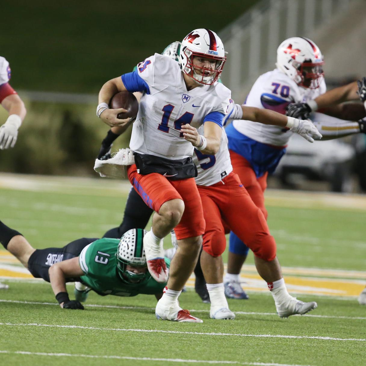 Carroll Dragons Fall Short Of Waco Miracle Against Midway High School Sports Wacotrib Com