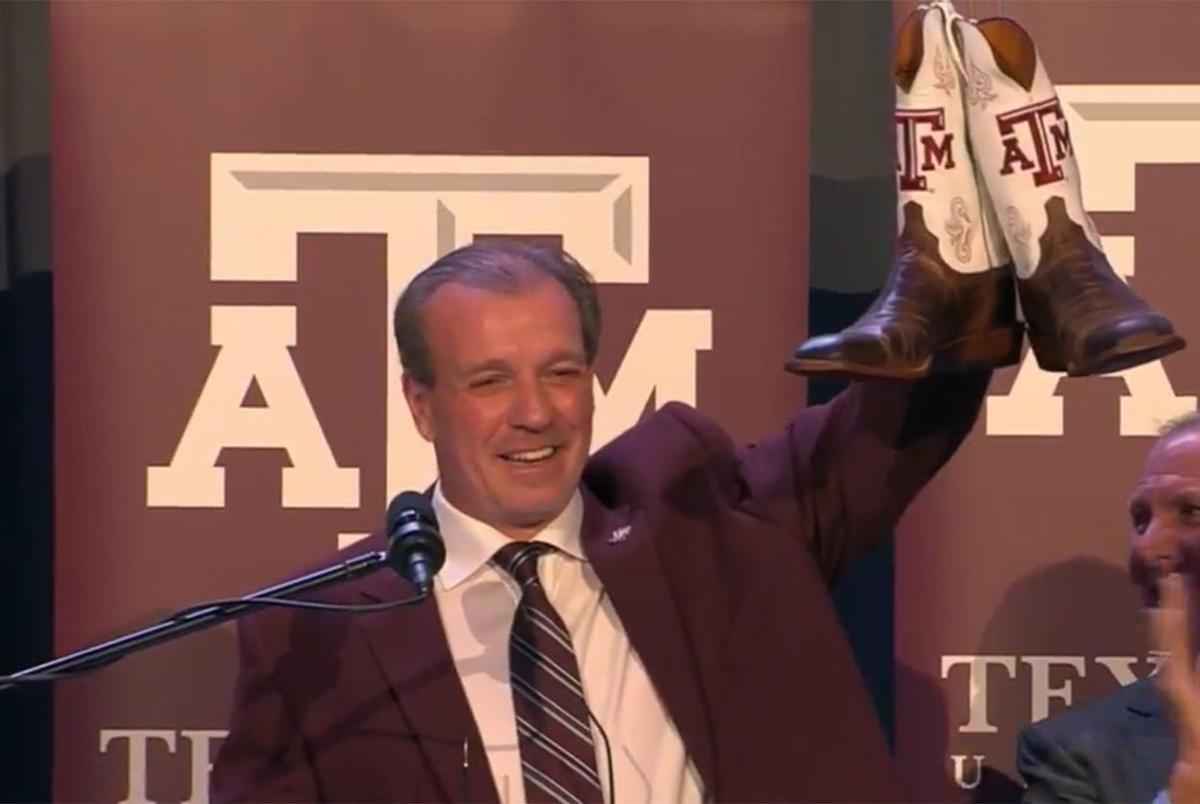 Texas A&M football's riches