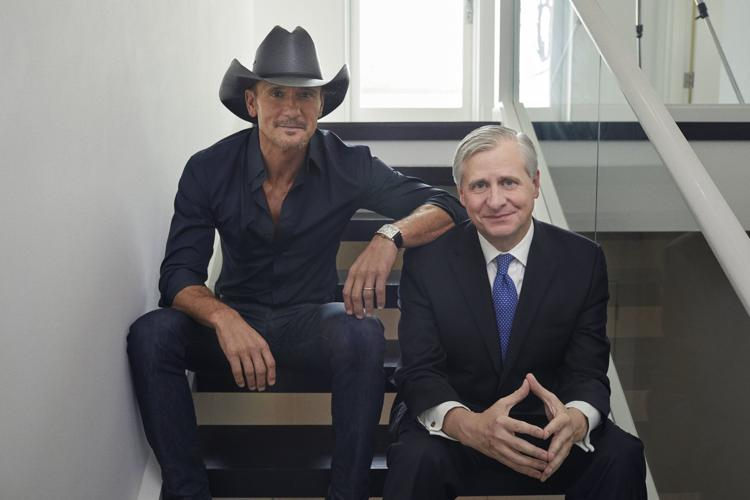 Tim McGraw and Jon Meacham