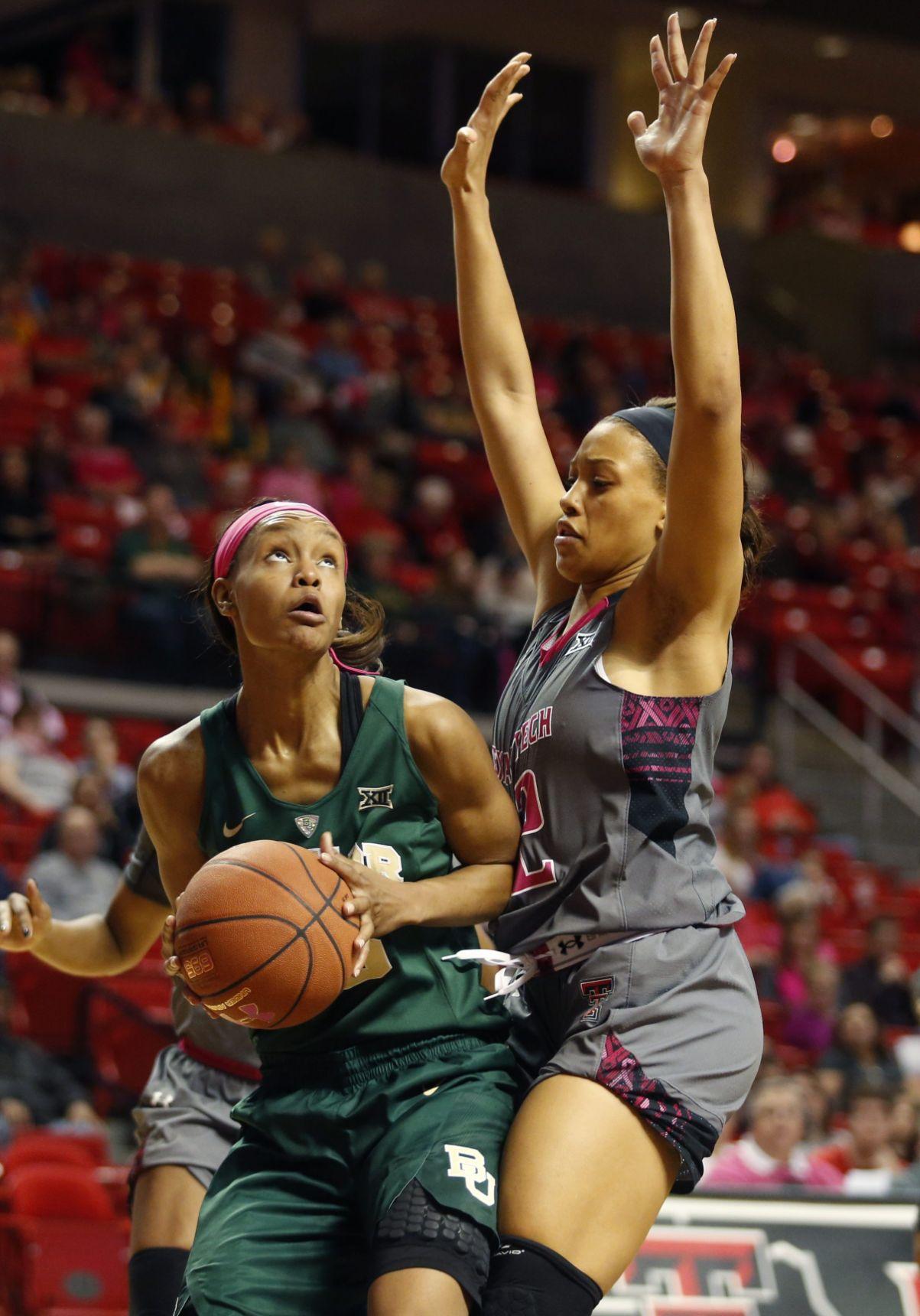 Baylor Texas Tech Basketball No 4 Lady