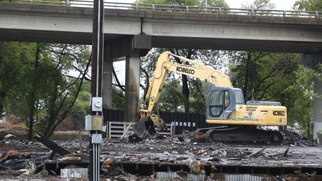 17th Street bridge to remain closed several days for inspection after Monday morning fire