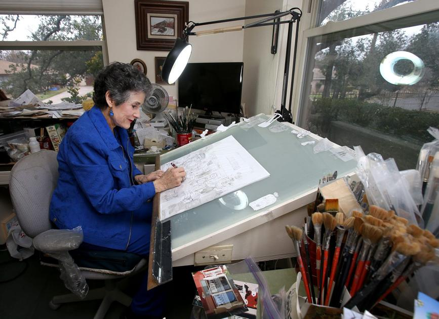 Woodway artist's works become canvas for jigsaw puzzles ...