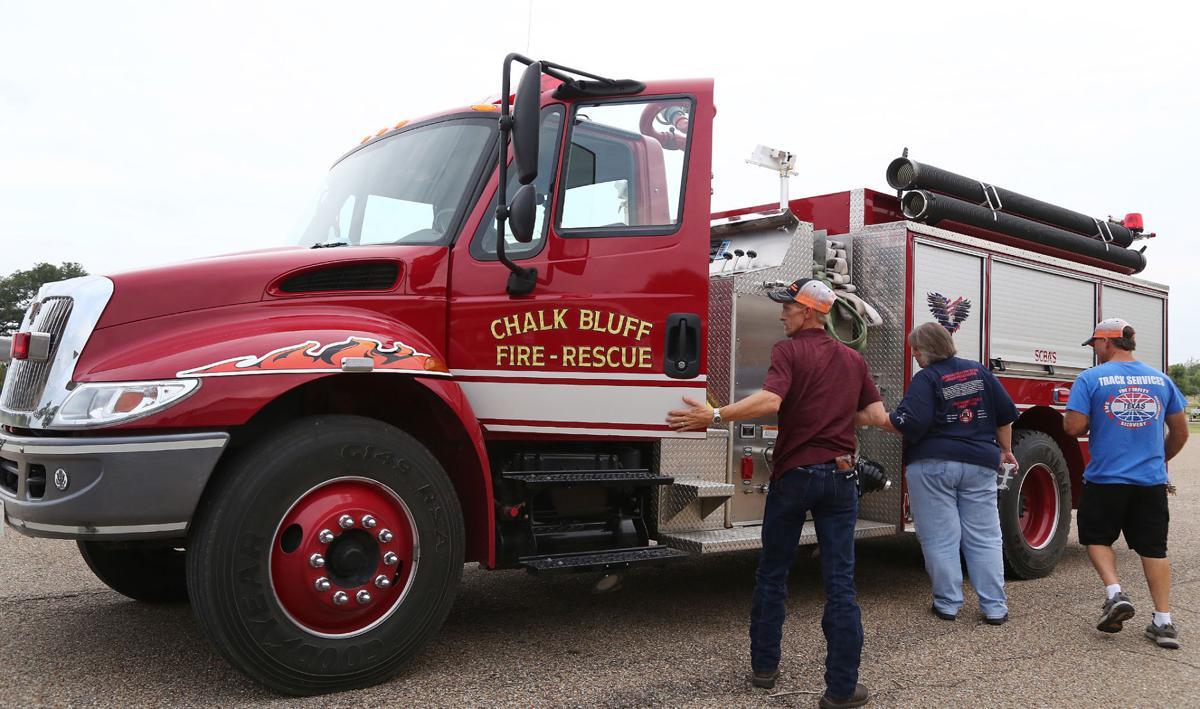 Chalk Bluff fire engine