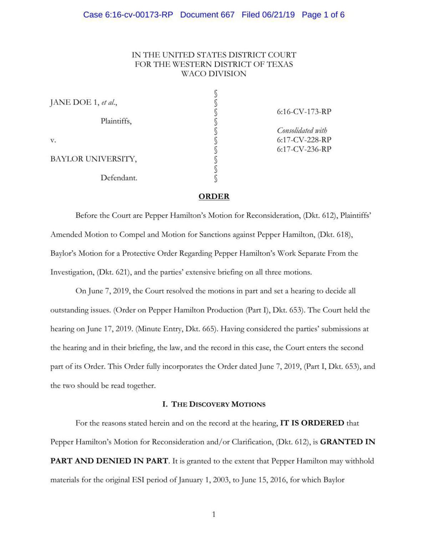 PDF: Pepper Hamilton sanctions order