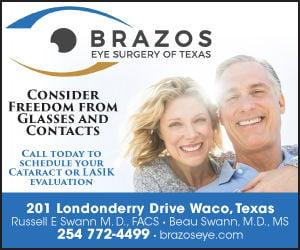 Brazos Eye Surgery Ad