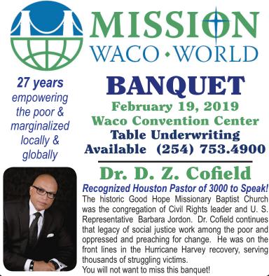 Mission Waco banquet