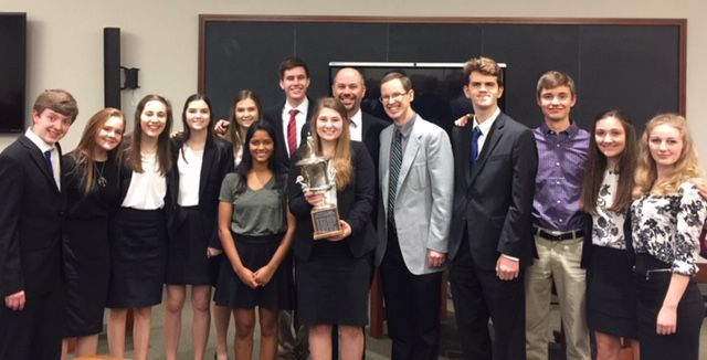 Greater Waco Home School mock trial winners