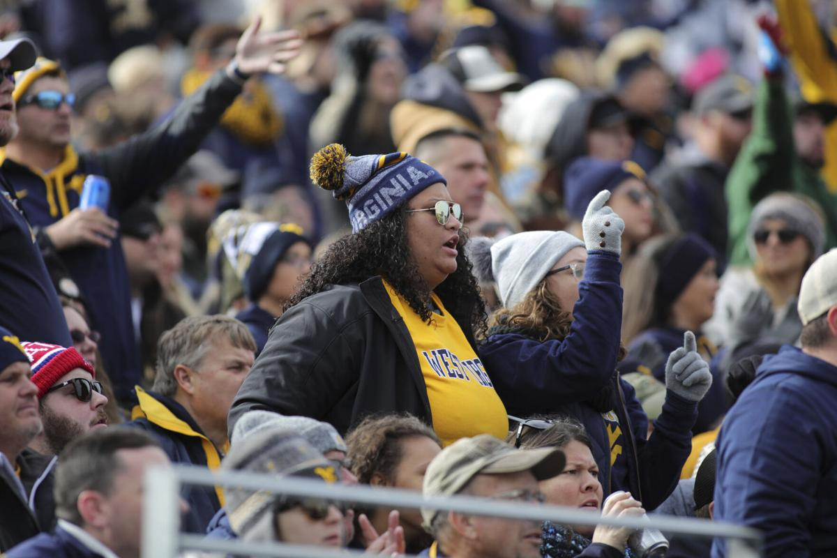 West Virginia fans