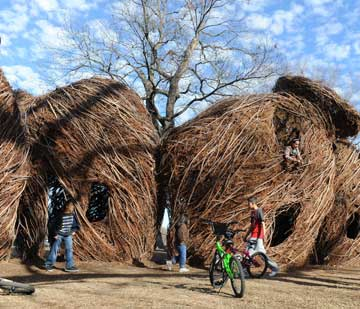 Cameron Park stick sculpture a hit with area residents (copy)