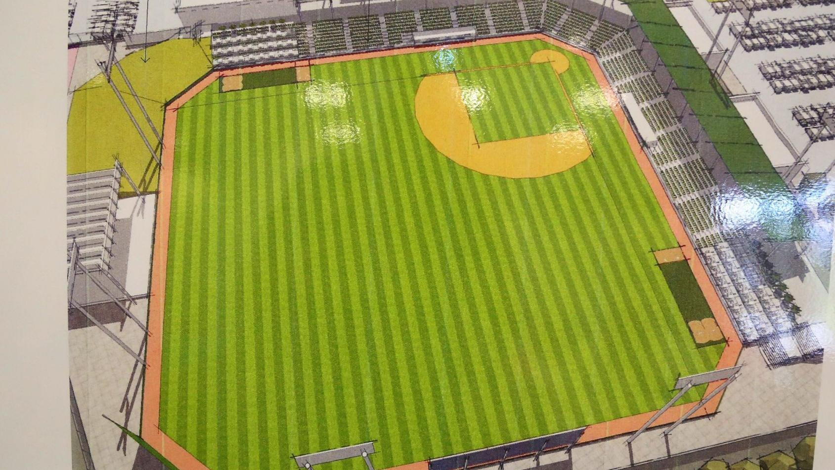 Waco Minor League Team Unveils Plans For Bellmead Baseball Stadium Sports News Wacotrib Com