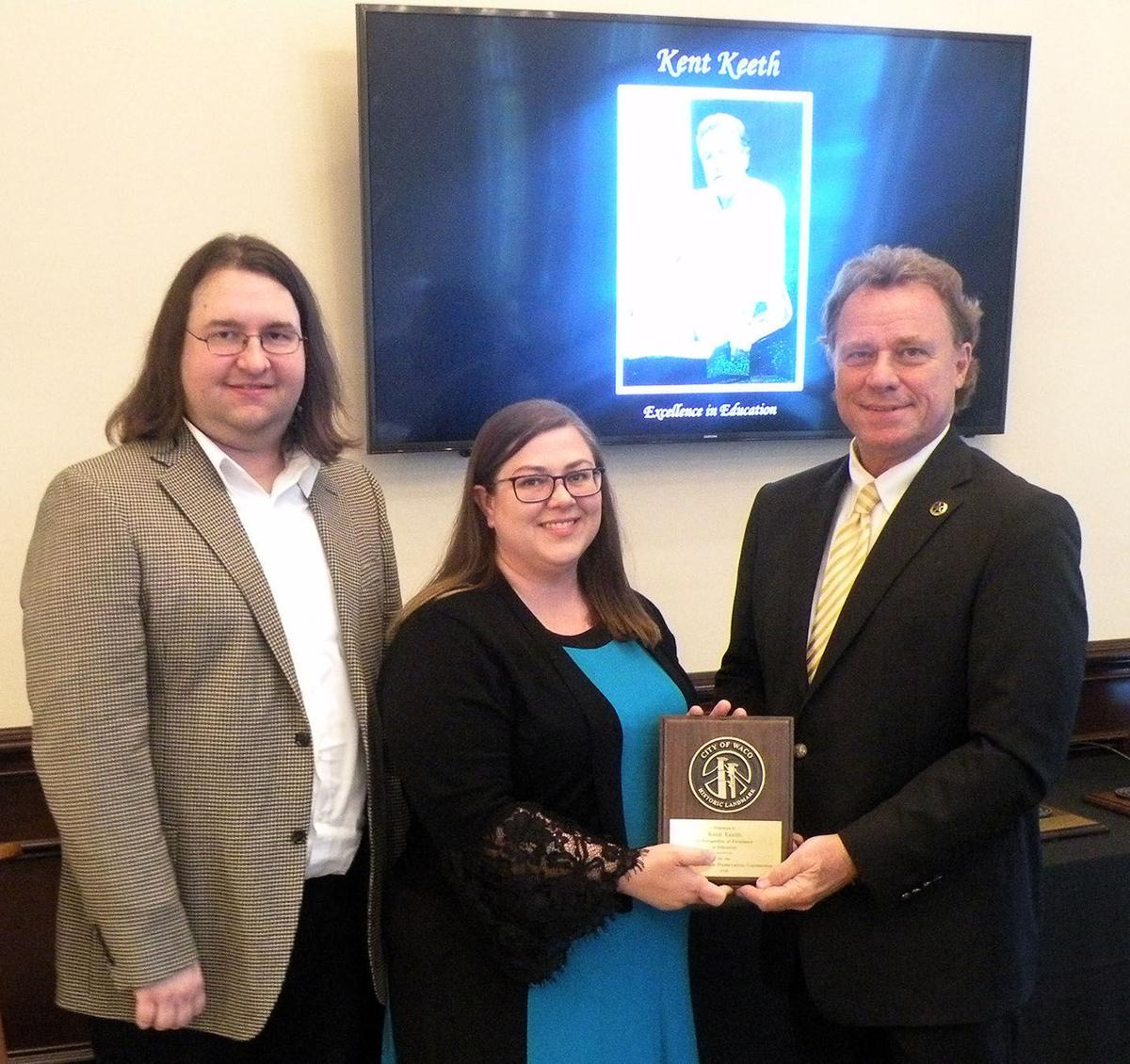 Historic Landmark Preservation Commission Presents Awards