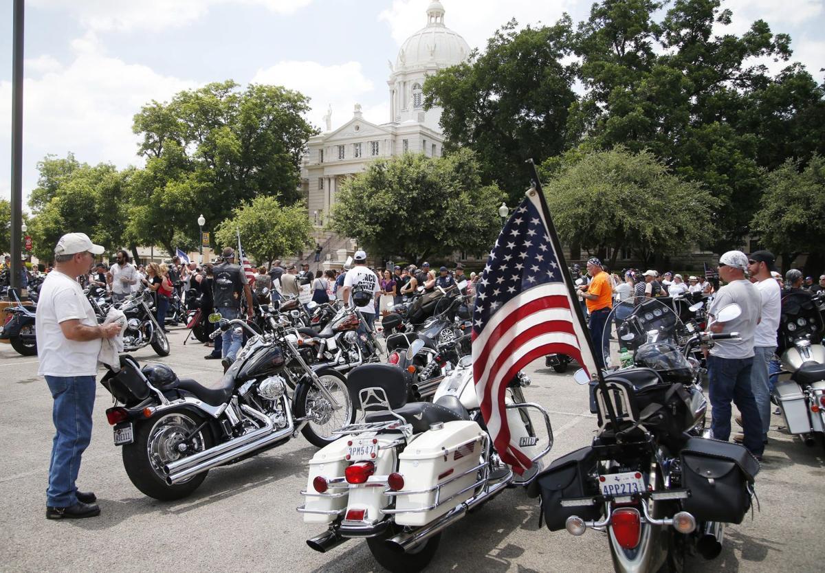 biker protest ra31