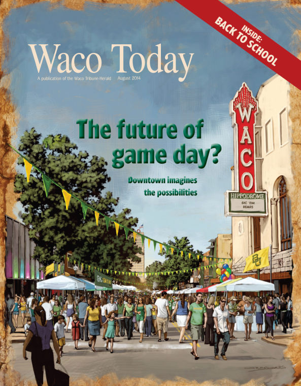August 2014 Waco Today cover