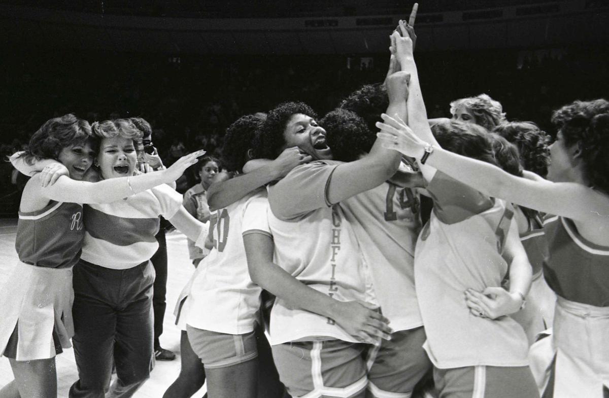Richfield 1984 state womens basketball