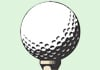Golf tease icon