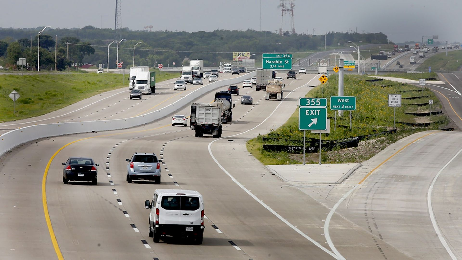 I 35 construction virtually complete north of Waco