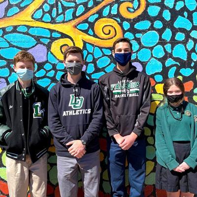 Live Oak science students