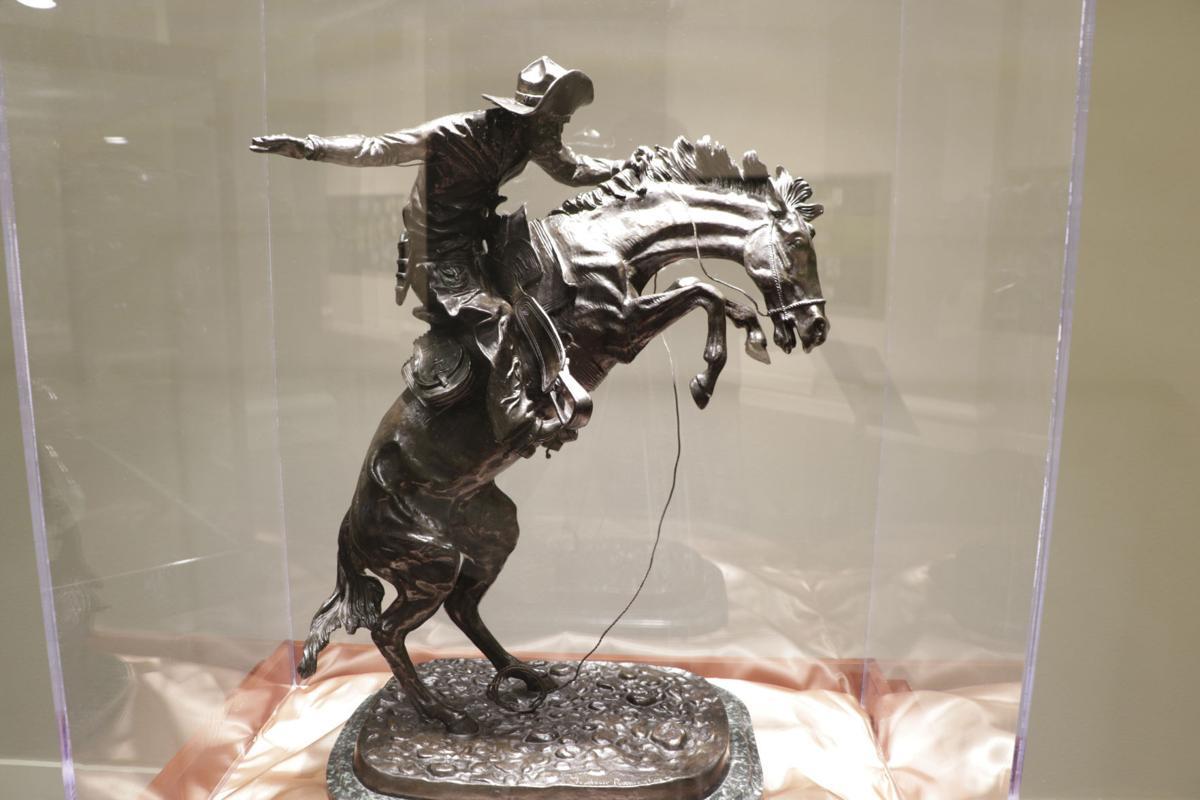 Remington bronze bronco