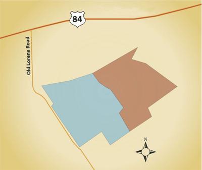 Waco landfill map
