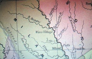 Exhibit showcases historic Waco maps, shows city's growth 1845-1913