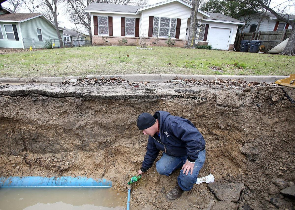 waco fixing 21 broken water pipes following cold front city of