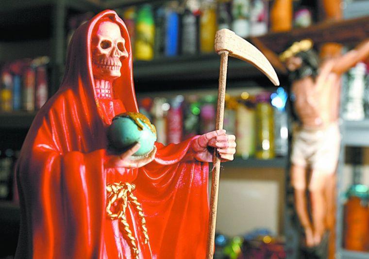 Santa Muerte devotees small presence in Waco | Local | wacotrib com