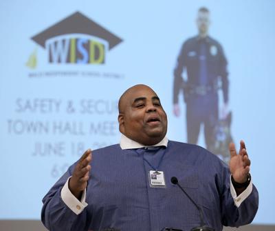 WISD Superintendent Marcus Nelson