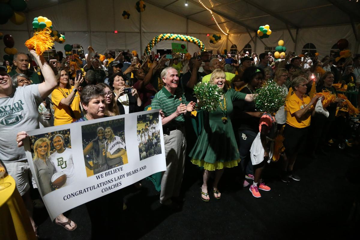 Baylor Final Four Pep Rally